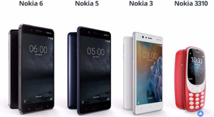Nokia 3310, Everyone's Favourite Phone Is Back! Nokia 3 & 5 Android Phones Also Revealed!!