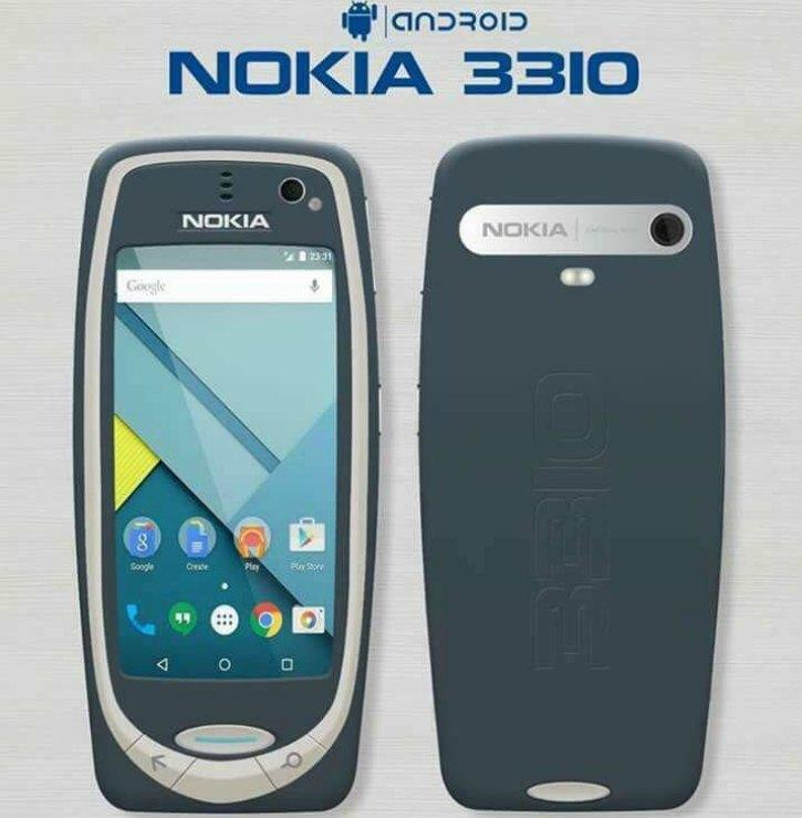 Nokia 3310 Android