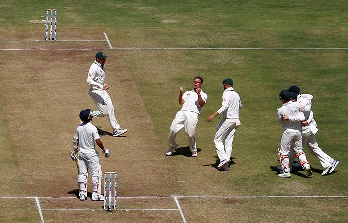 Australian Player Celebrating