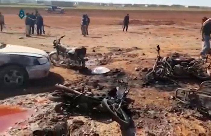 Car Blast in Syria