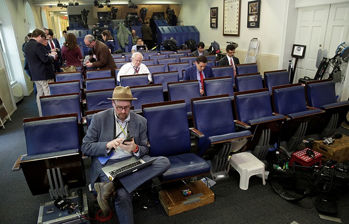 Press Briefing in White House