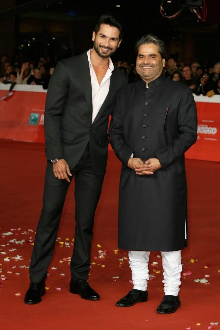 Shahid Kapoor and Vishal Bhardwaj