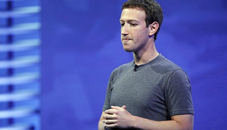 Mark Zuckerberg is Sad