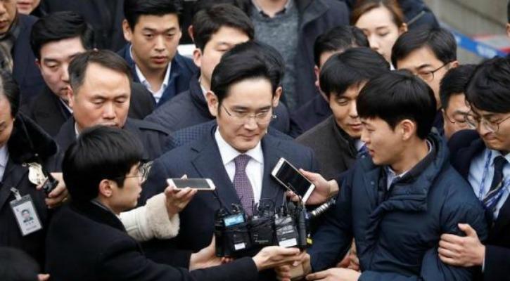 Samsung vice chairman Jay Y Lee