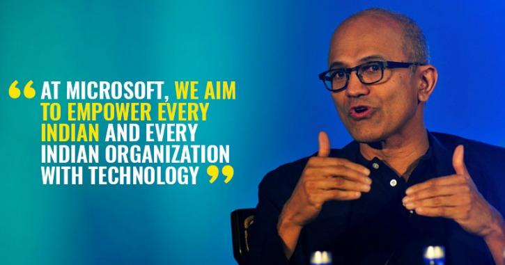 Satya Nadella Microsoft CEO In India 2017 Bengaluru Quote