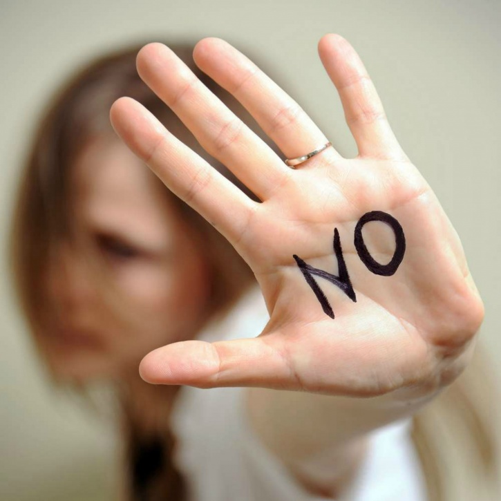 Confident people say no when they have to