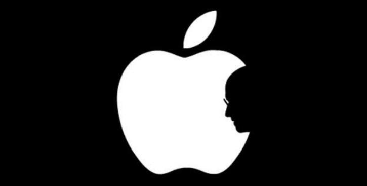 Steve Jobs Apple logo
