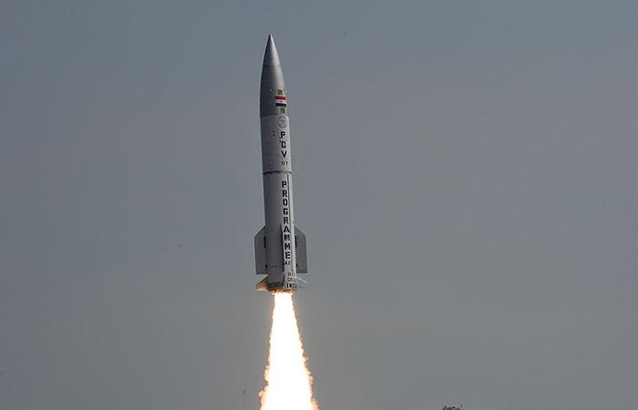 Test-Fires Interceptor Missile