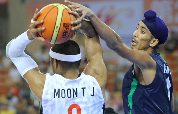 Sikh Basketball Player