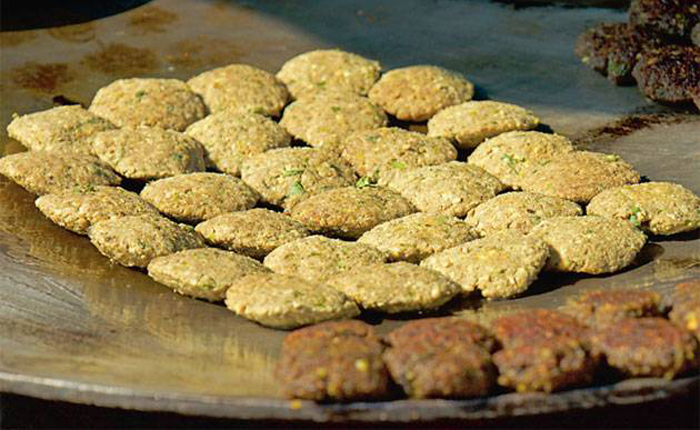 Shami kebab, the ancestor of the galauti, is more painstaking to cook
