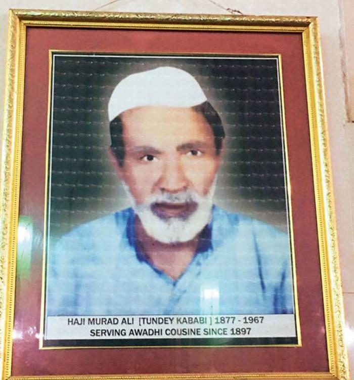 Usman is the grandson of the legendary one-armed cook Haji Murad Ali