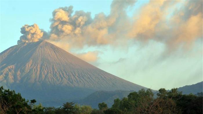 Nicaragua volcano