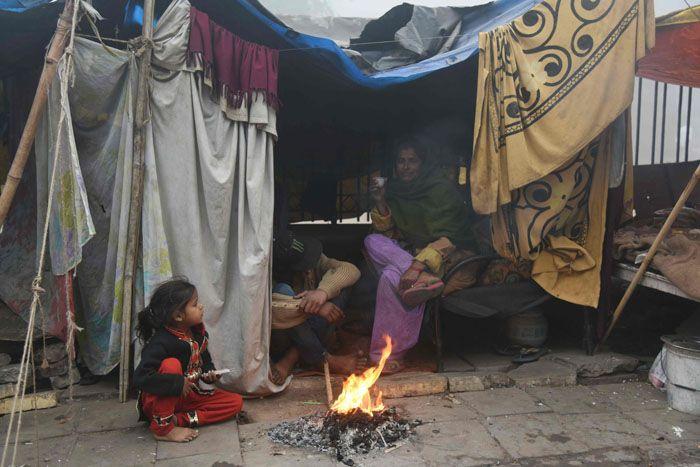 homeless Indian