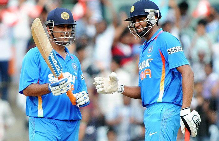 Dhoni and Ashwin