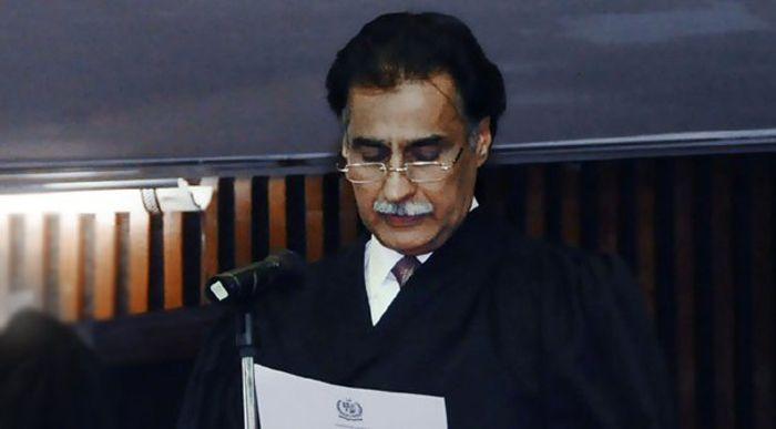 National Assembly speaker Ayaz Sadiq
