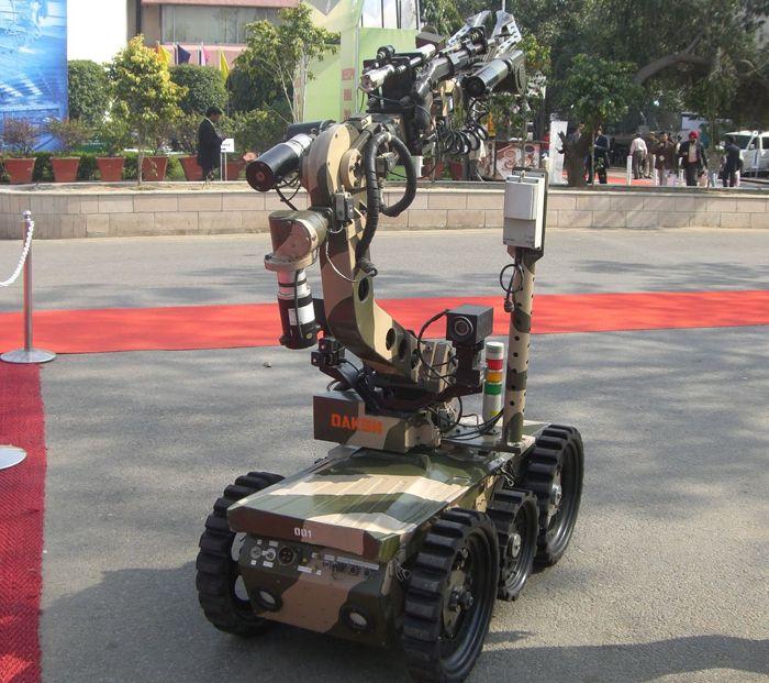 DRDO Unveils Robot For Home Security Needs