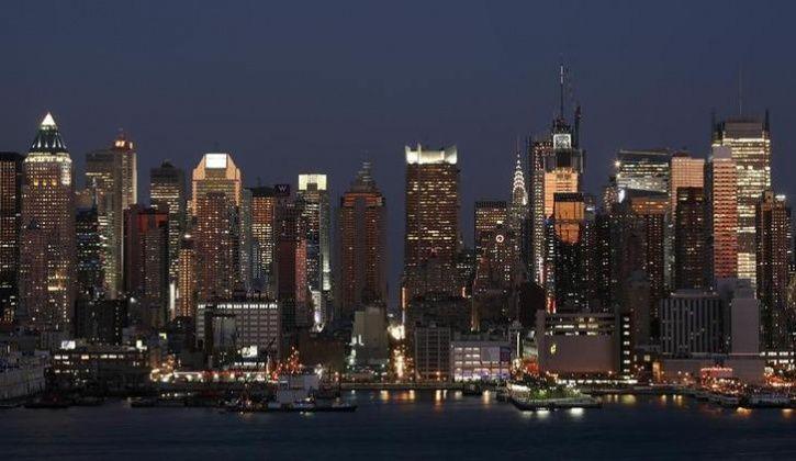 The skyline of Manhattan