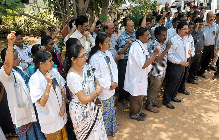 Doctors on Protest