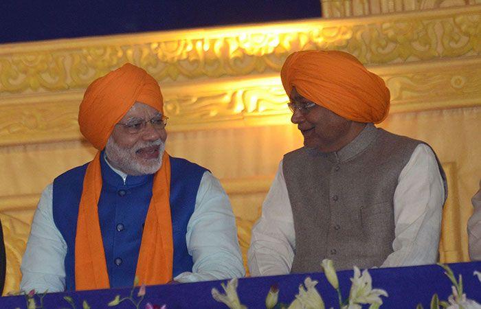 Modi and Nitish Kumar