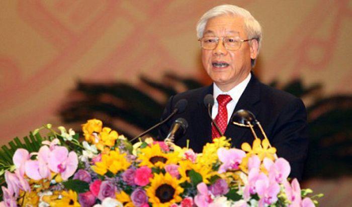 Vietnam leader Nguyen Phu Trong