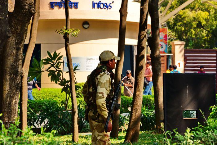 Infosys campus in Hinjewadi Murder Victim Father