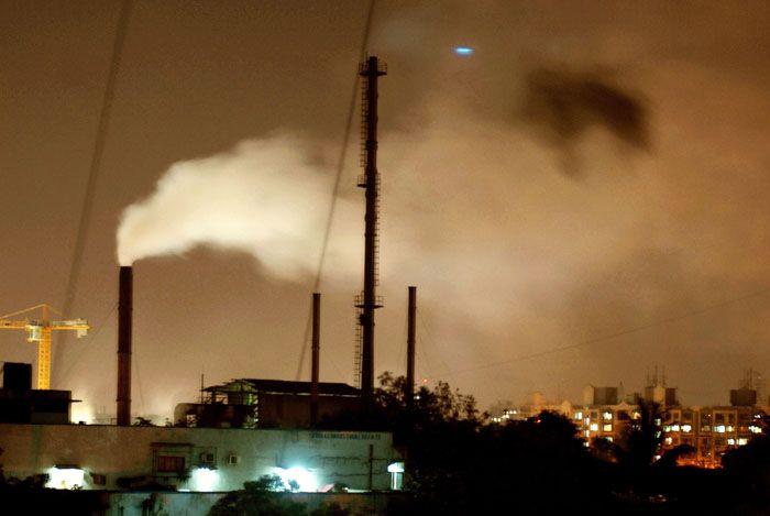Air pollution industrial