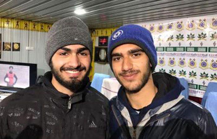 Basit Ahmed and Mohammed Asrar Renbar