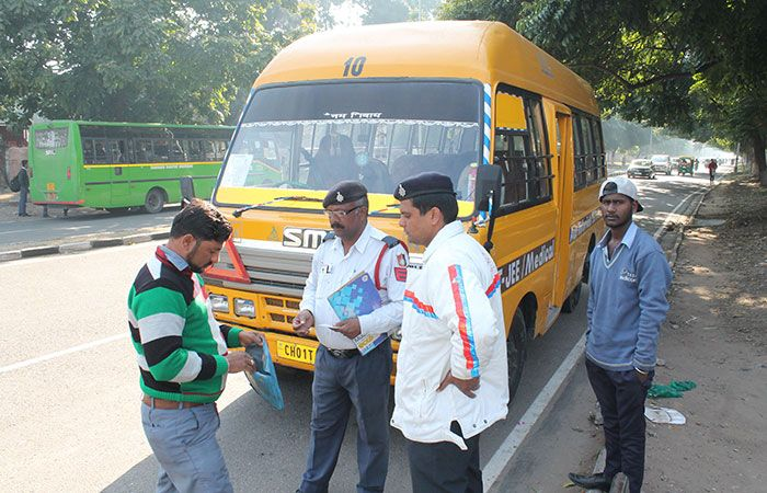 Traffic Police Check Documents