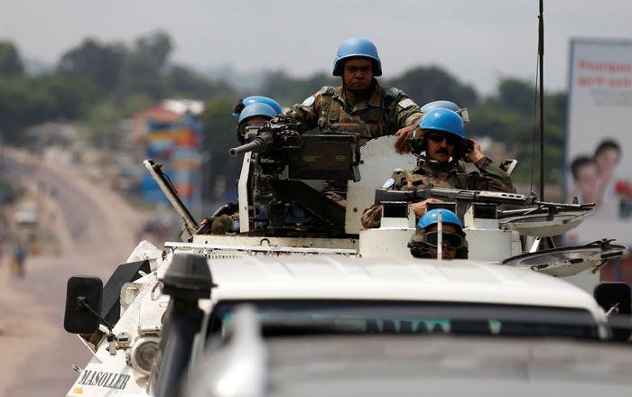 Indian peacekeepers