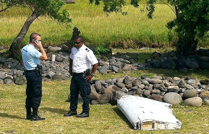 Found Part of MH370
