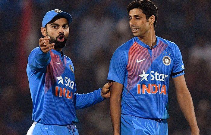 Kohli and Nehra