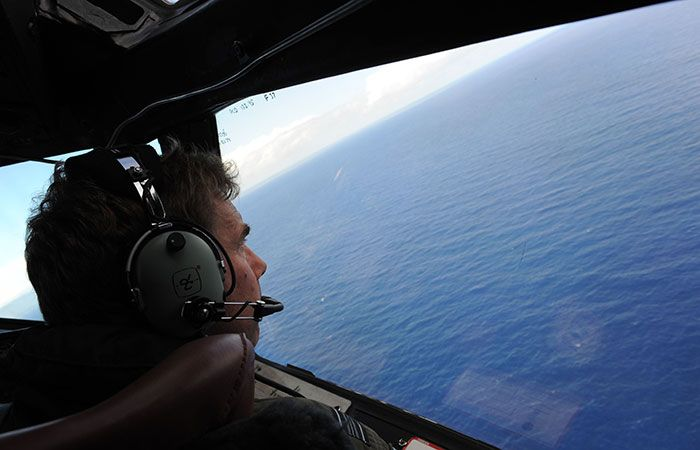 Search Operation of MH370