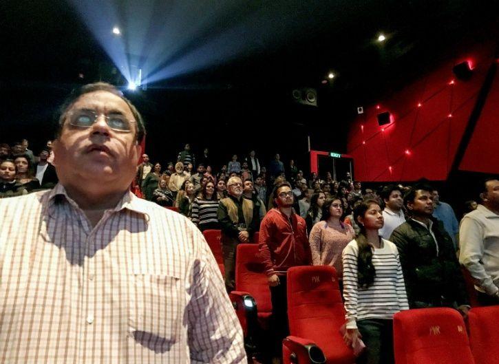 Movie stand up anthem