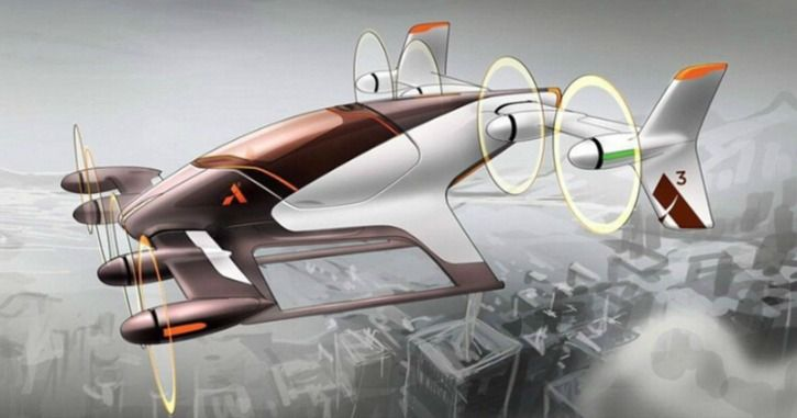 airbus autonomous flying taxi prototype