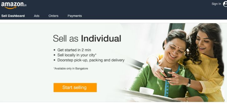 Amazon India Buy or Sell Used Products