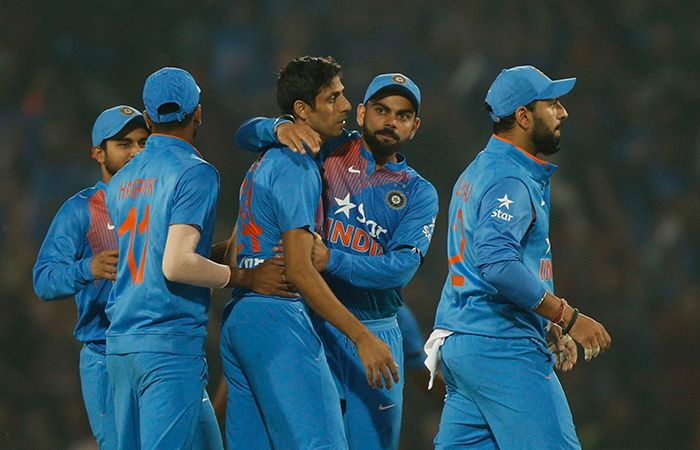 Indian Cricket Player Celebrate