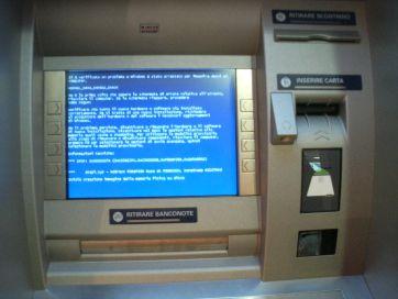 ATM BSOD Windows error