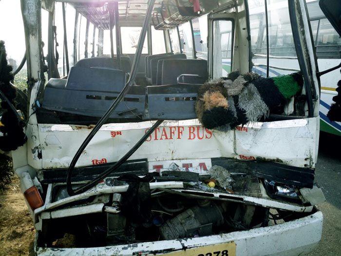 Accident Near Jaipur