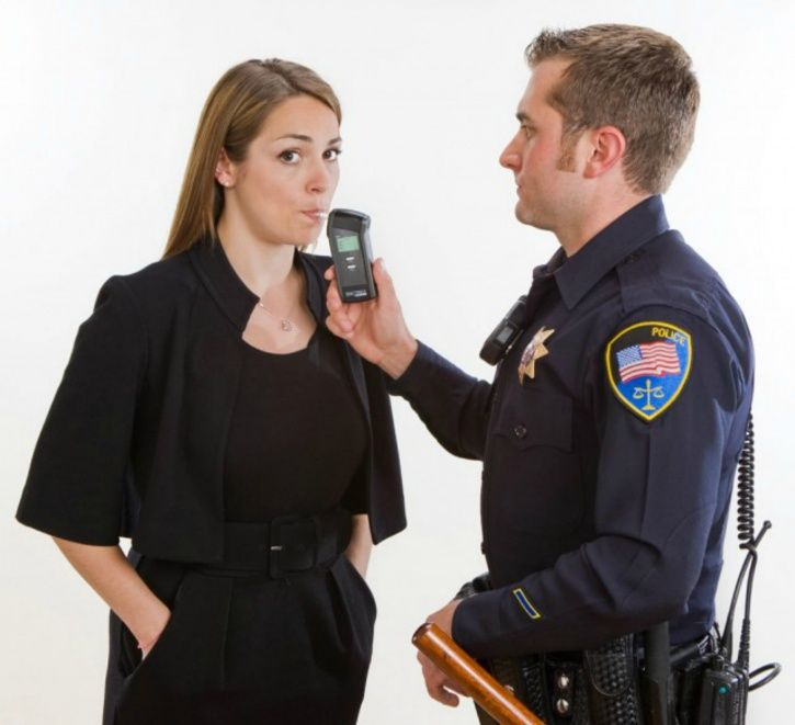 Breathalyser testing for alcohol