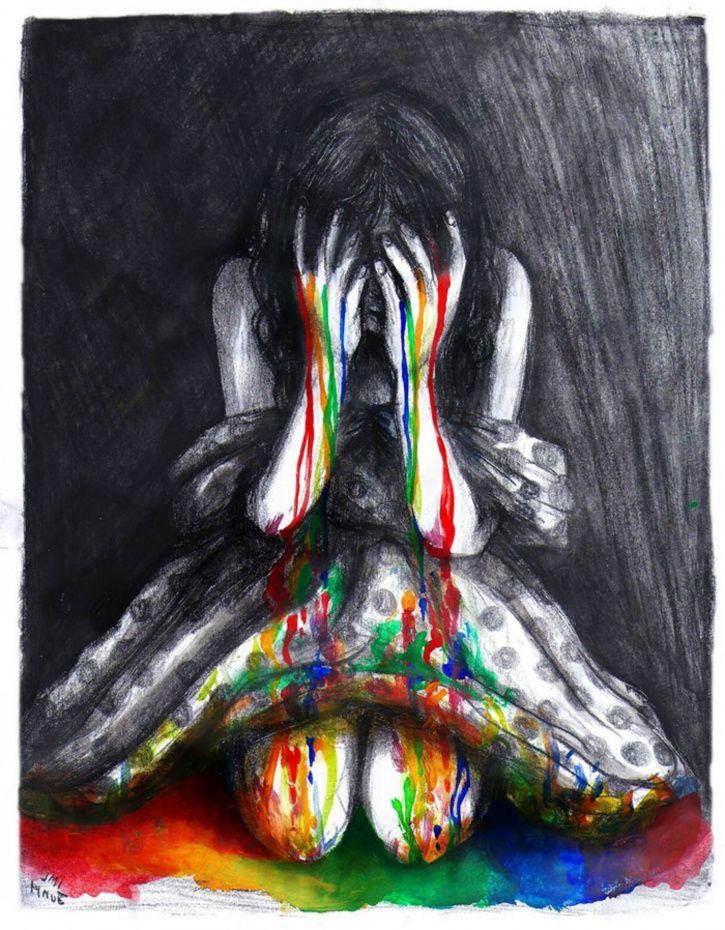 Colourful depression