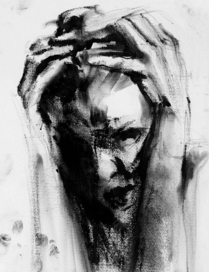 Falling sketch No.55