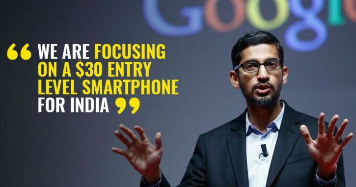 Google Rs 2000 Android smartphone