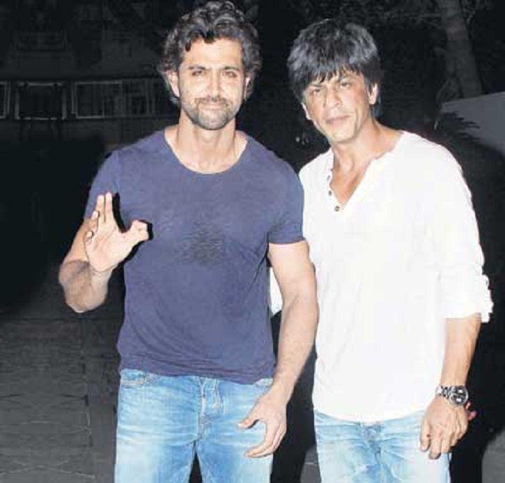 SRK Hrithik
