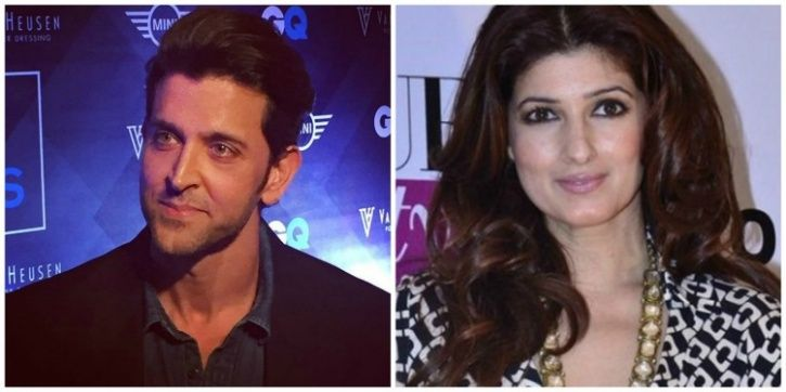 Hrithik and Twinkle