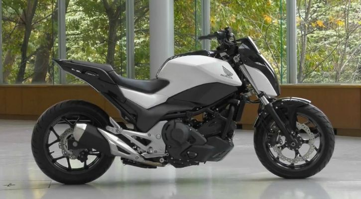 Honda Riding Assist self-balanced motorcycle