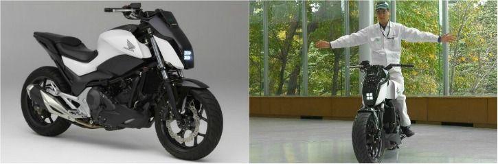 Honda Riding Assist self-balancing motorbike