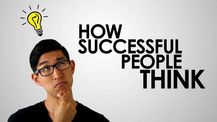 Successful people thinking