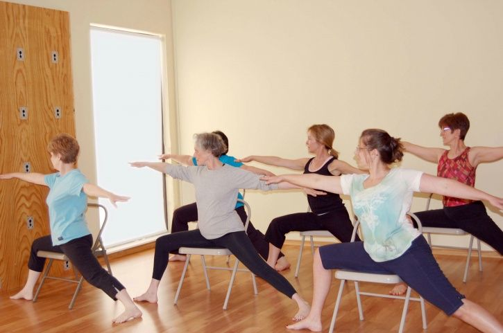 Recent study about chair yoga