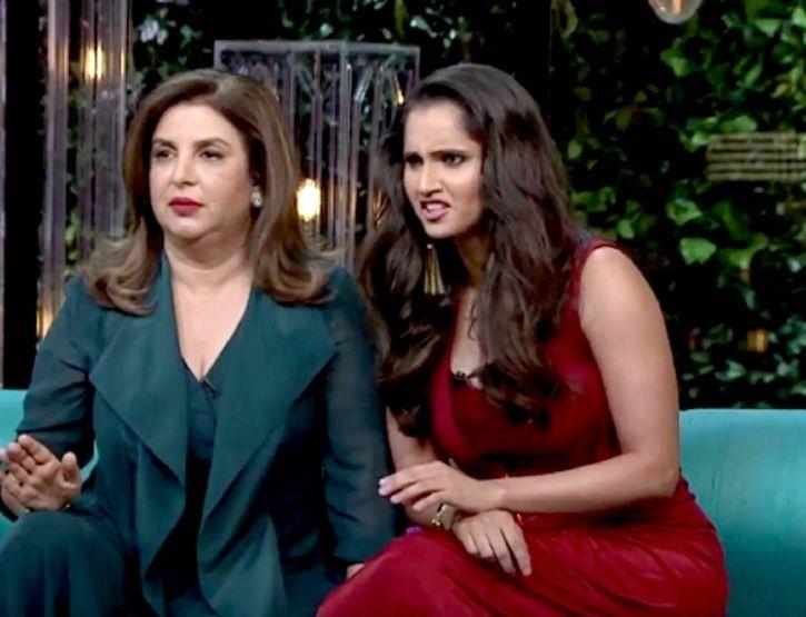 Sania Mirza and Farah Khan
