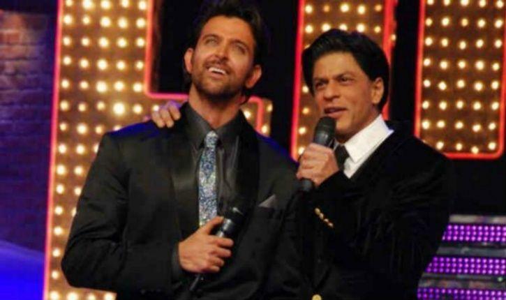 Hrithik and SRK